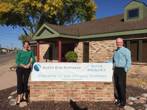 From left: Audrey Roth and Greg Roth of Roth Insurance.