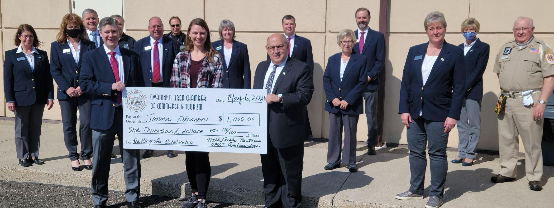 Ringhofer Scholarship 2020 recipient